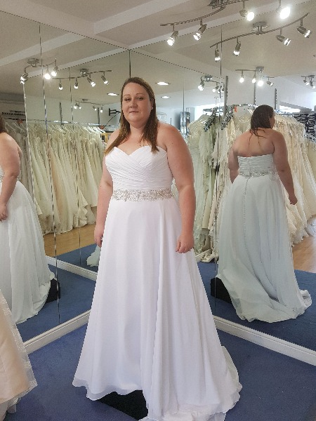 newest outlet store top style Plus size brides :) show me your dresses — You & Your Wedding