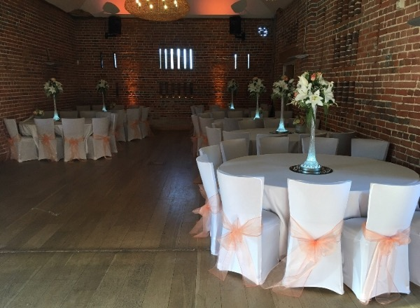 Awesome 120 White Chair Covers And Peach Organza Bows For Sale Andrewgaddart Wooden Chair Designs For Living Room Andrewgaddartcom