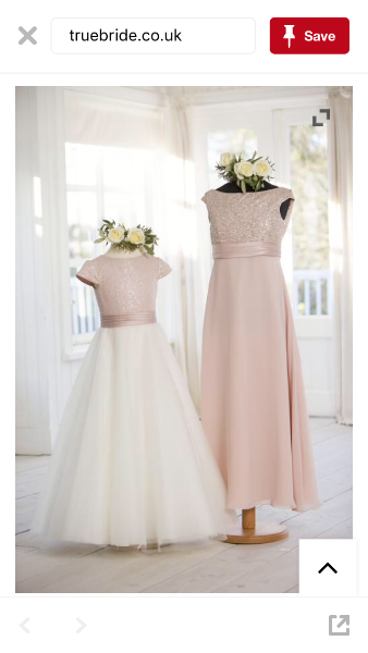 younger bridesmaid dresses