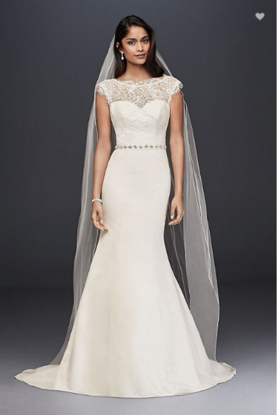 6ddc92a6576 Brand new unworn David s Bridal wedding dress for sale UK size 18 ...