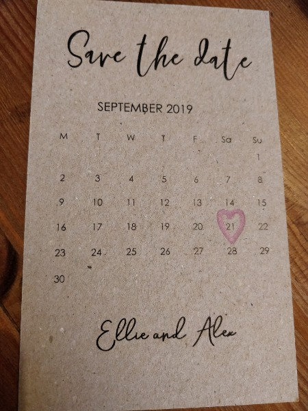 a979adaca034 Actually really pleased with our save the dates to say we did them  ourselves based on pinterest inspo and in my experience things do not  always turn out ...