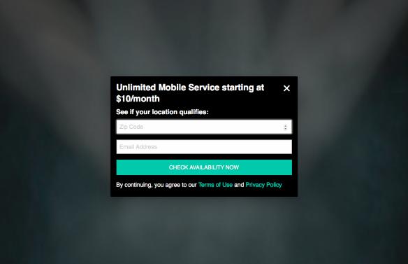 New UNREAL Mobile hotspot — UNREAL Mobile