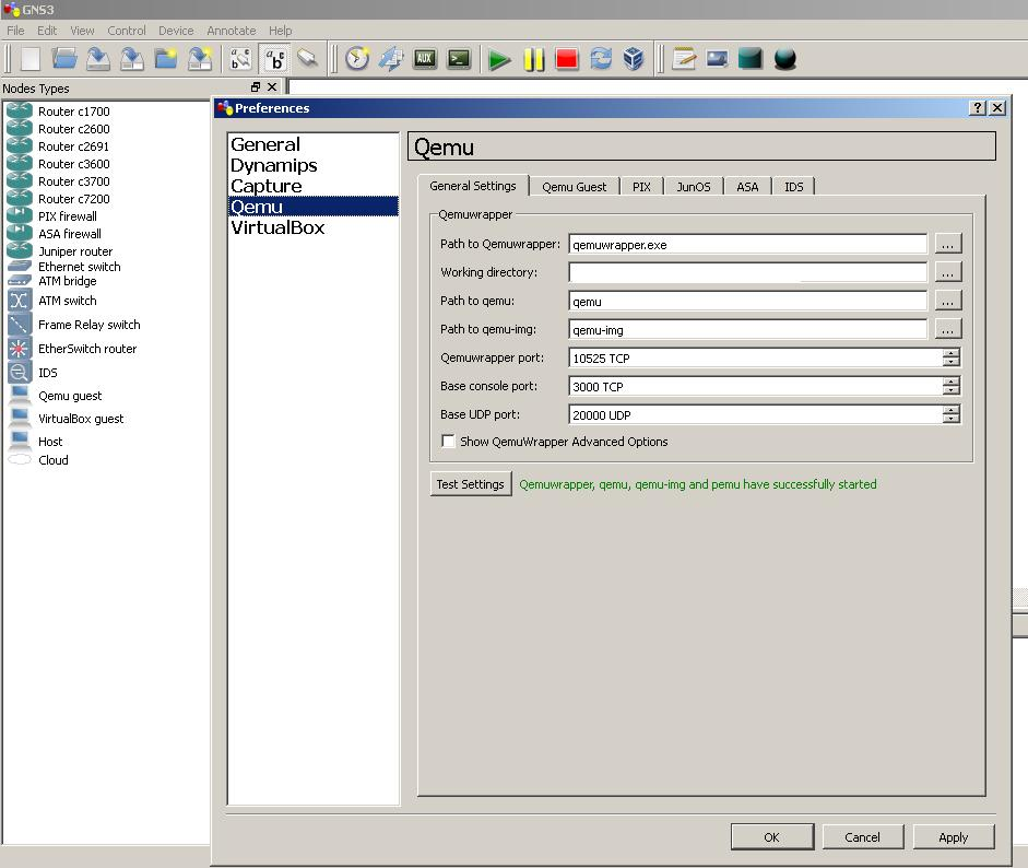 JUNOS router emulation in GNS3** - Page 2 — TechExams Community