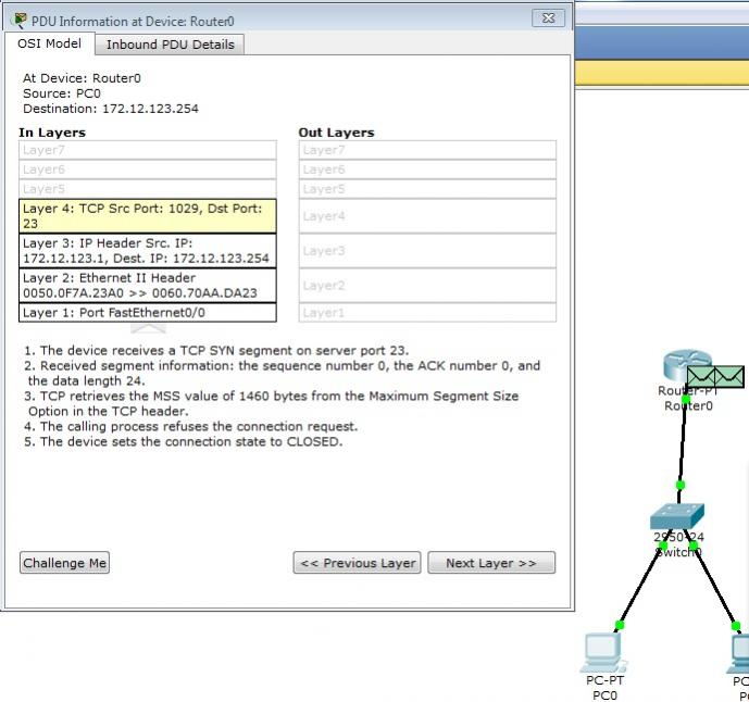 packet tracer extended ACL with Telnet — TechExams Community