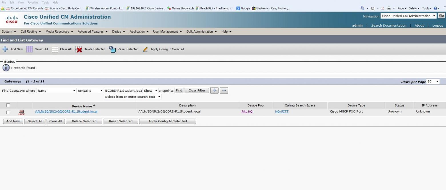 Cisco 1760 MGCP to CUCM — TechExams Community