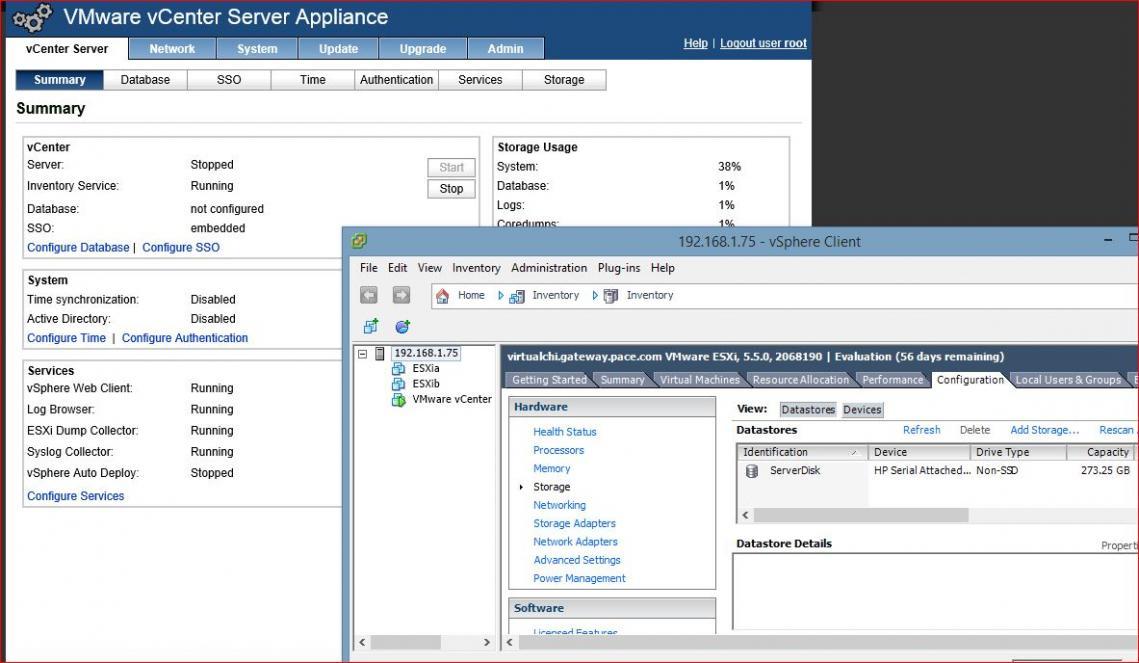 VMware vCenter Server Appliance & Lab — TechExams Community