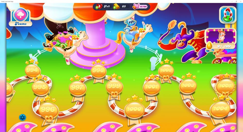 My Map Level 1000 On Candy Crush Soda Saga - Origins7 Dale.png