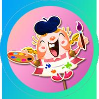 KingCommunity_Badges Art Nook Tiffi.png