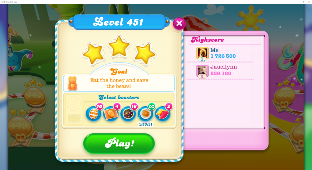 Level 451 My Highest Score In Candy Crush Soda Saga - 1,726,300 - Origins7 Dale.png