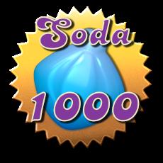 Soda 1000 Badge - Candy Crush Soda Saga.png