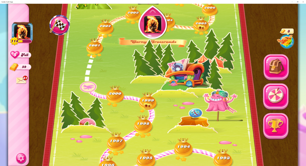 My Map Level 2000 On Candy Crush Saga - Origins7 Dale.png