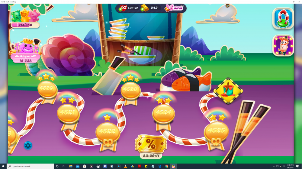 My Current Level 4525 on Candy Crush Soda Saga - Origins7 Dale.png