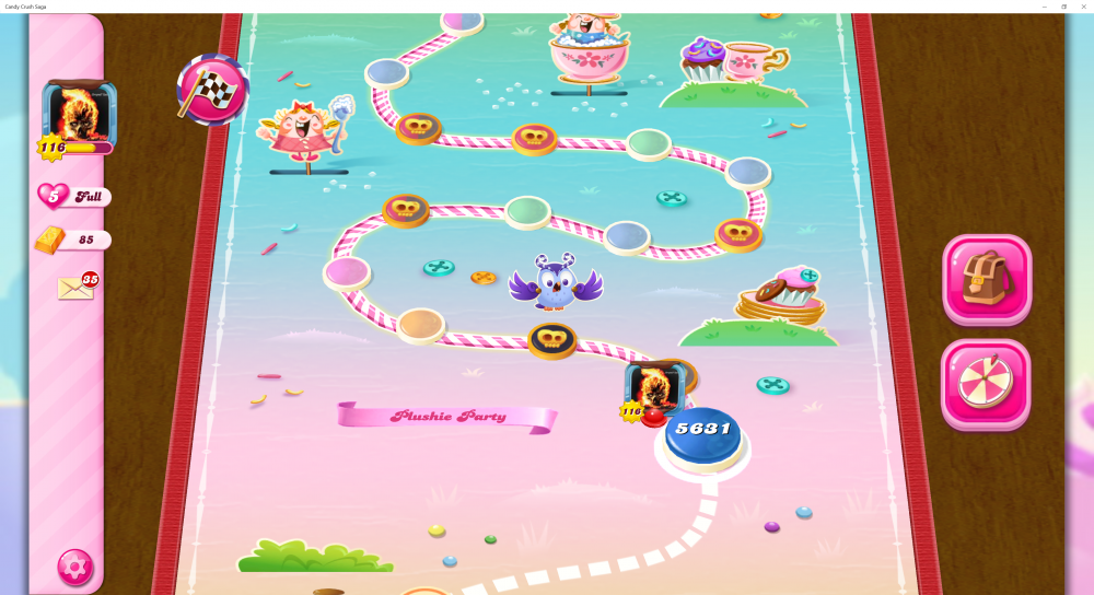 My Current Level 5631 on Candy Crush Saga - Origins7 Dale.png