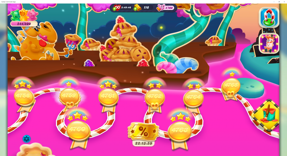 My Current Map Level 4766 (Finished Level 4765) On Candy Crush Soda Saga - Origins7 Dale.png