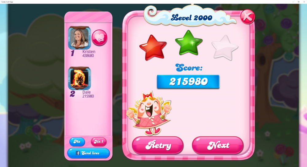My Score on Level 2000 on Candy Crush Saga is 215980 - Origins7 Dale.png
