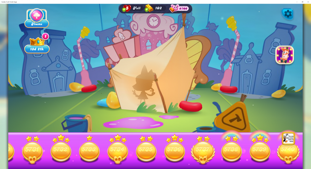Candy Town Founder - Founder's Frame For Founder's Badge - Candy Crush Soda Saga - Origins7 Dale.png