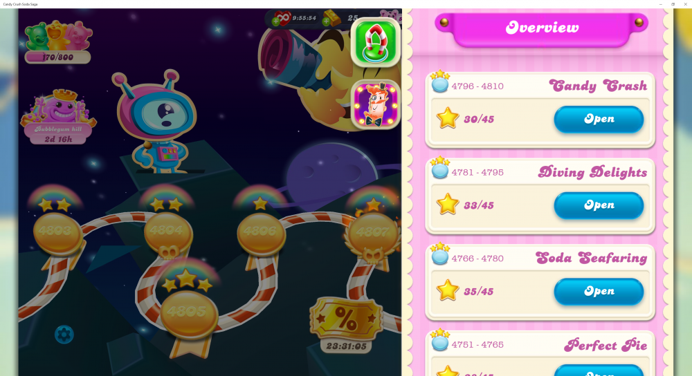 My Current Episode Is Candy Crash Level 4811 (Finished Level 4810) On Candy Crush Soda Saga - Origins7 Dale.png