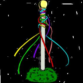 Maypole white pole.png