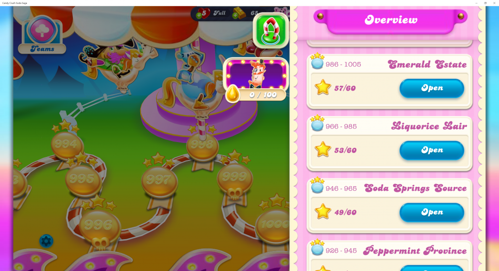 My Episode Was Emerald Estate Level 1000 On Candy Crush Soda Saga - Origins7 Dale.png