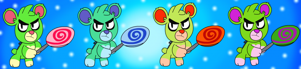 Green Teddy Bear (Crash On the Run!).png