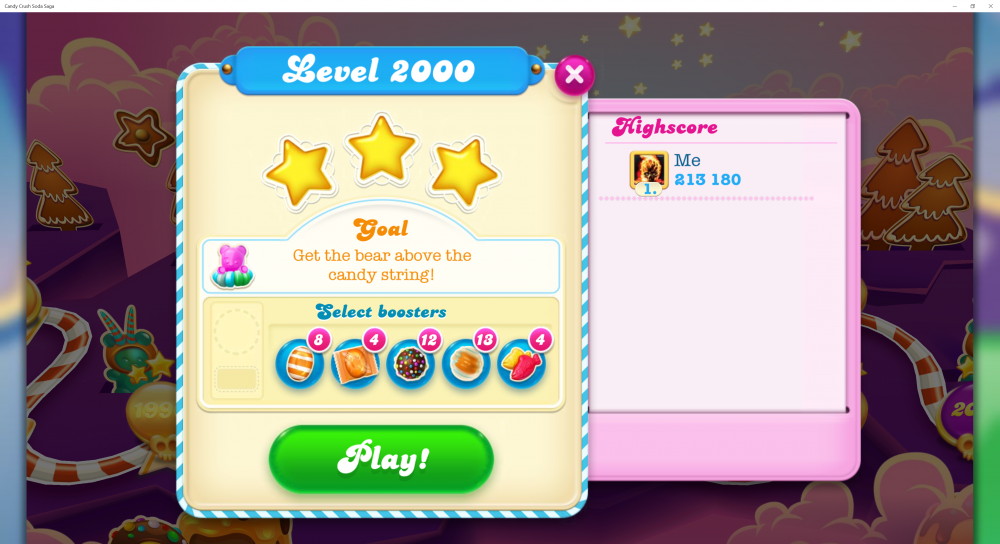 My Score At Level 2000 - 213180 - On Candy Crush Soda Saga - Origins7 Dale.png