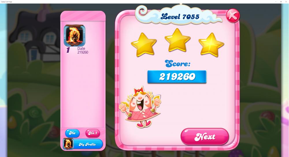 My Score Level 7055 - 219260 - Candy Crush Saga - Origins7 Dale.png