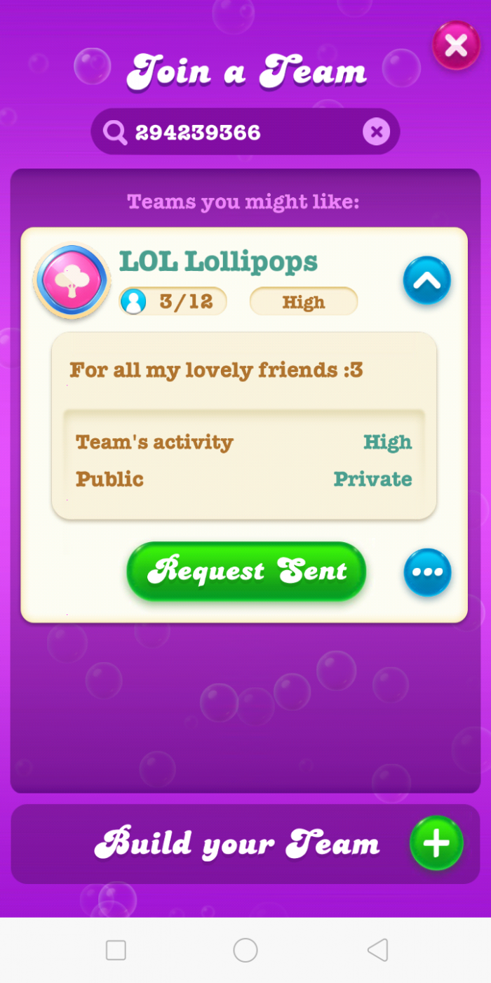 Candy Crush Soda Saga - Under Join A Team - Correct Info Entered - Looks Like This - Origins7 Dale.png