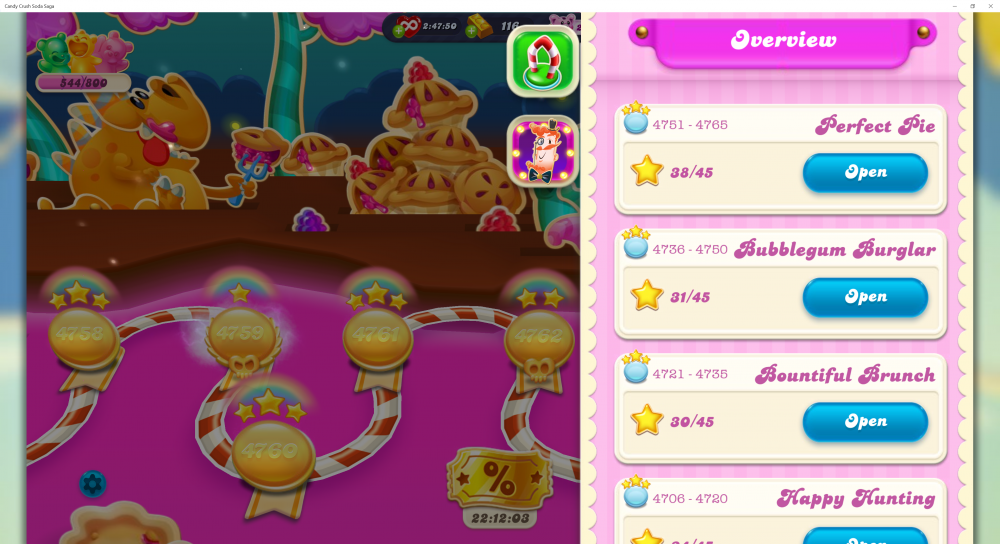 My Current Episode Is Perfect Pie Level 4766 (Finished Level 4765) On Candy Crush Soda Saga - Origins7 Dale.png
