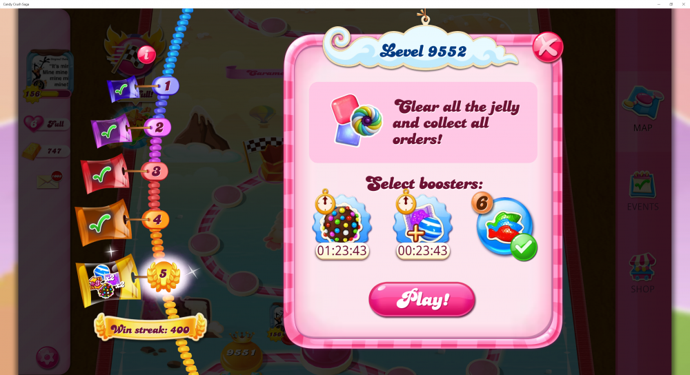 Candy Necklace Win Streak - 400 + 1 Win Streak Listed On Level 9552 - Candy Crush Saga - Origins7 Dale.png