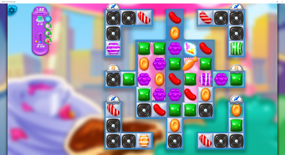 Supersonic Lolly Drop - Hard Level 4990 - 1st Piece On Board - Candy Crush Soda Saga - Origins7 Dale.png