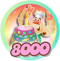 Badges Candy 8000 level cake.png