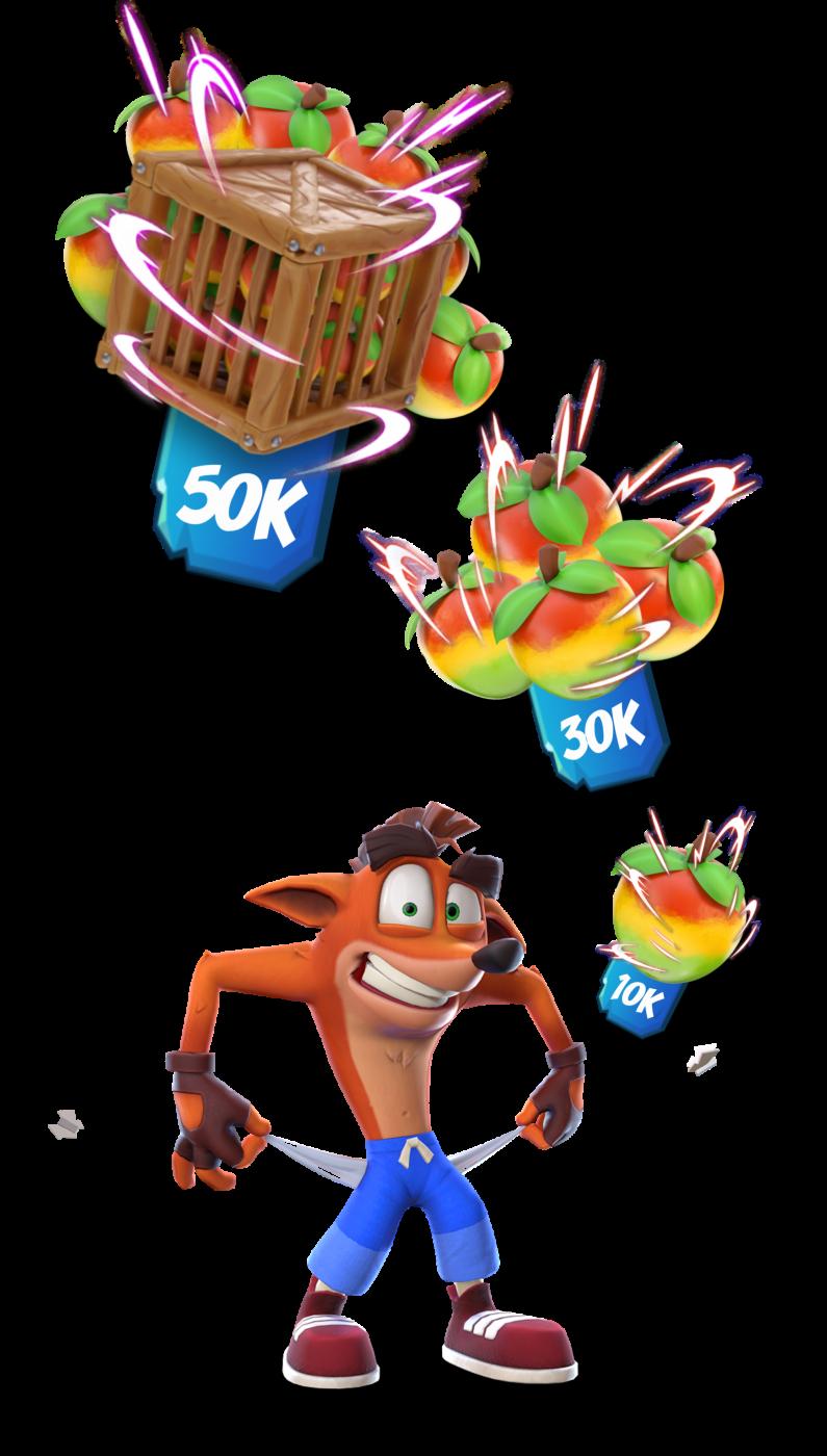 Aku Aku challenge Wumpa Fruits badges image.png