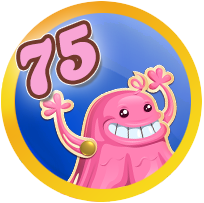 Badges Candy Level race 75.png