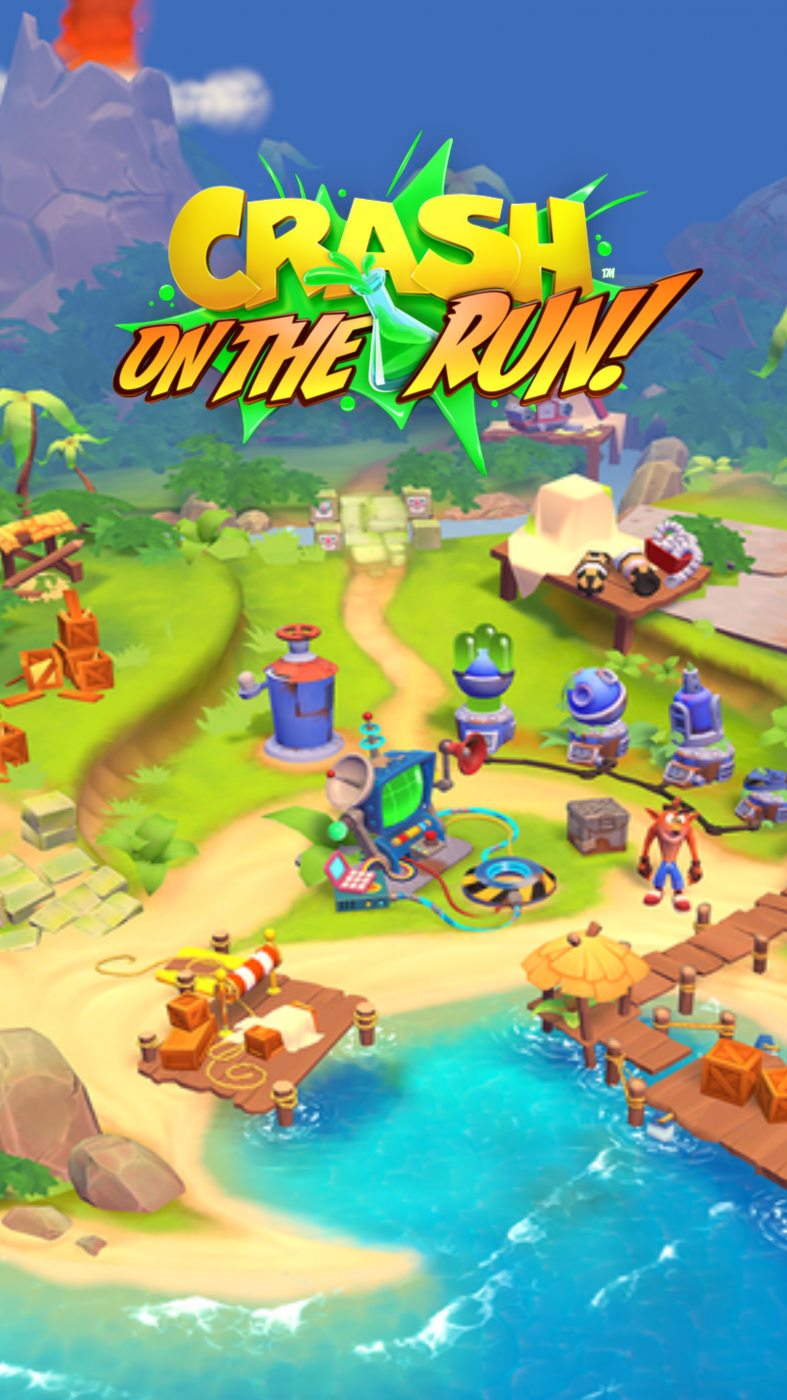 Crash On the Run Coco's Base Wallpaper (Portrait).png
