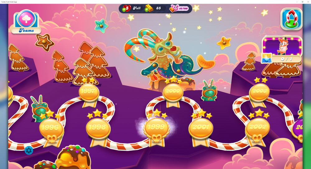 My Map Level 2000 Episode Was Punch Ball On Candy Crush Soda Saga - Origins7 Dale.png