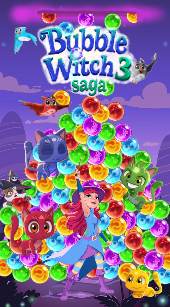 Bubble Witch Saga 3 wallpaper.png