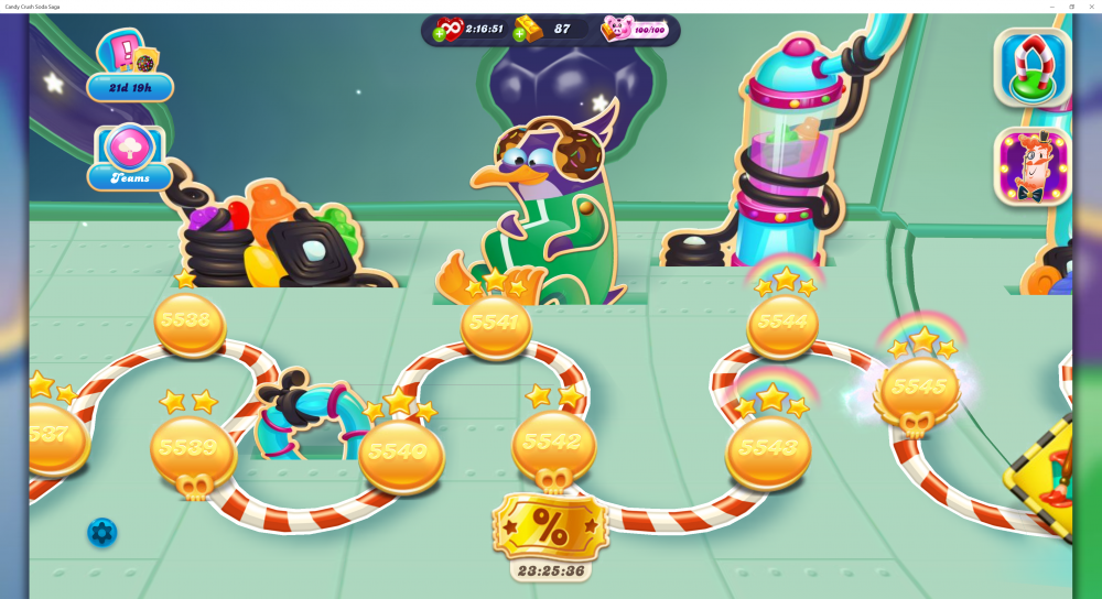 My Current Map Level 5546 (Finished Level 5545) Episode Sugar Station - On Candy Crush Soda Saga - Origins7 Dale.png