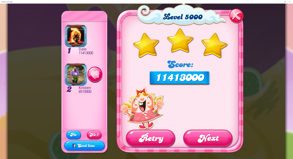 My 1st Score Attempt On Candy Crush Saga Level 5000 - 11413000 - @bearwithme Contest - Origins7 Dale.png