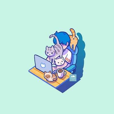 Funny-Cats-Working From Home Cat Butt Face.png