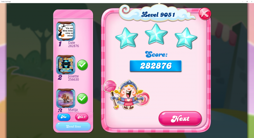 Yeti's Candy Tournament - Week 2 - Collect All Ingredients With 3 Stars - Level 9051 Sugar Stars - CCS - Origins7 Dale.png