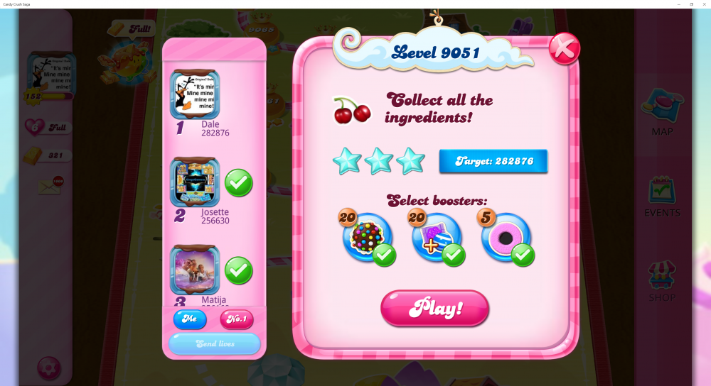 Yeti's Candy Tournament - Week 2 - ID Of Level - Collect All Ingredients With 3 Stars - Level 9051 Sugar Stars - CCS - Origins7 Dale.png