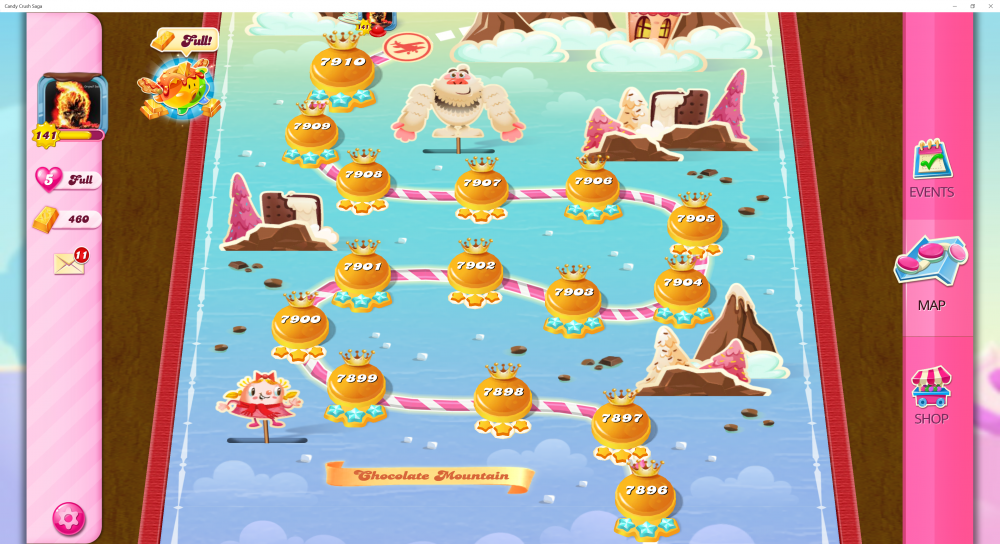 New Blockers Order Locks - Start Level 7896 Thru 7910 - Candy Crush Saga - Origins7 Dale.png