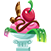 Candy small cherry dessert.png