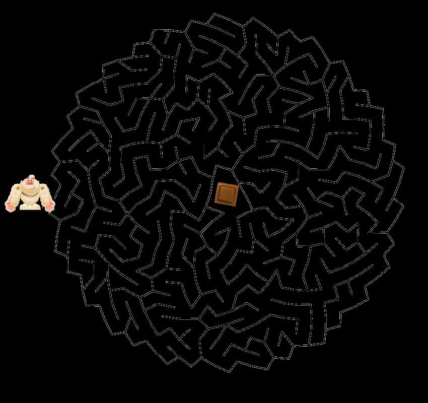 Yeti with chocolate maze.png