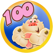 Badges Candy Level race 100.png