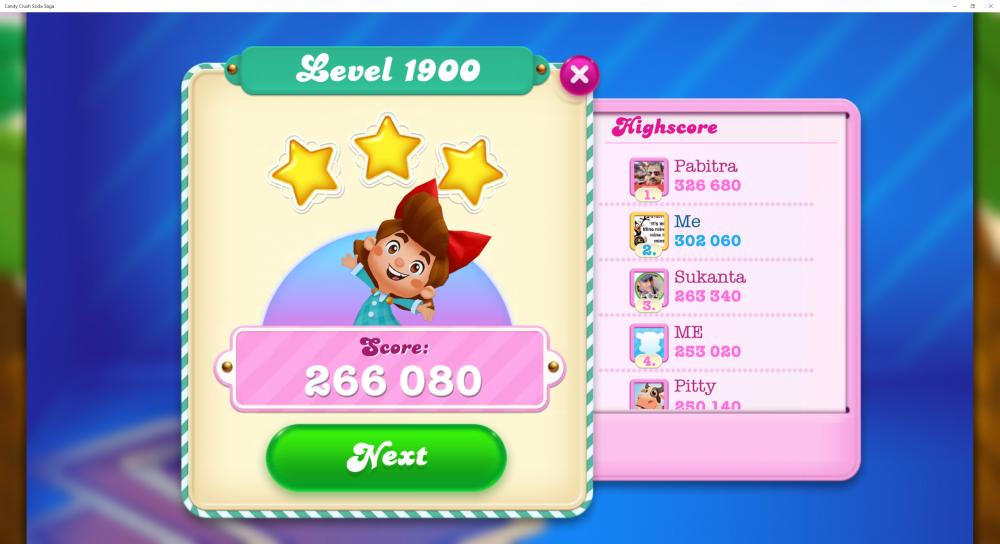 Level 1900 - 42 Bears Done - Score 266,080 - CCSS - Origins7 Dale.png