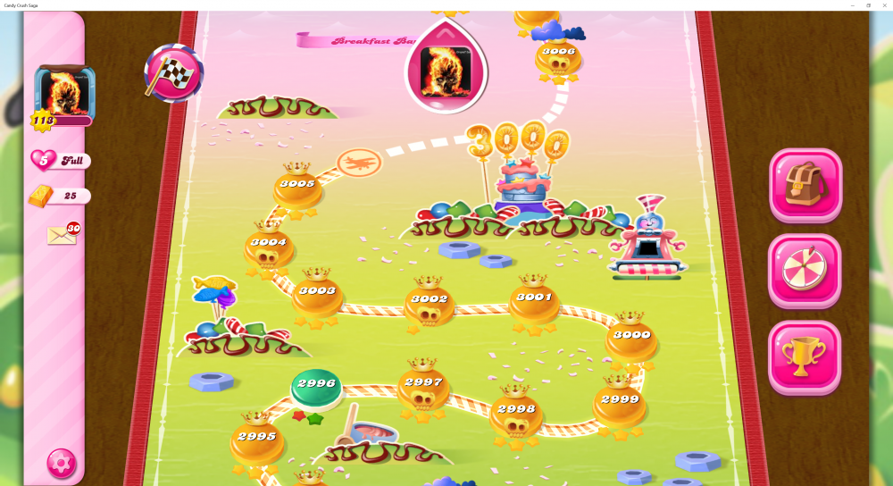 My Map Level 3000 On Candy Crush Saga - Origins7 Dale.png