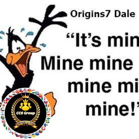 Facebook Duck Avatar With CCS Group Achiever's Club Logo Badge - Origins7 Dale.png