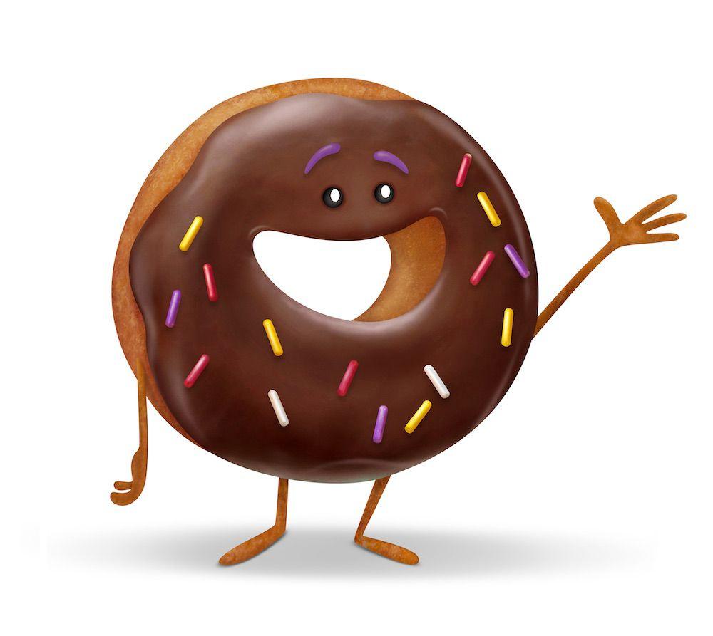 We Interviewed 'The Emoji Movie' Food Emojis_ Pizza, Ice Cream, Hot Dog, Donut, Fried Shrimp and Fish Cake With Swirl.jpeg