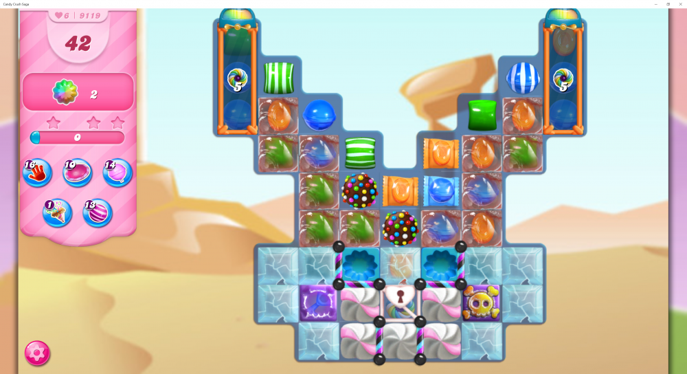 Yeti's Candy Tournament - Week 3 - Two Color Bombs On Level 9119 - CCS - Origins7 Dale.png